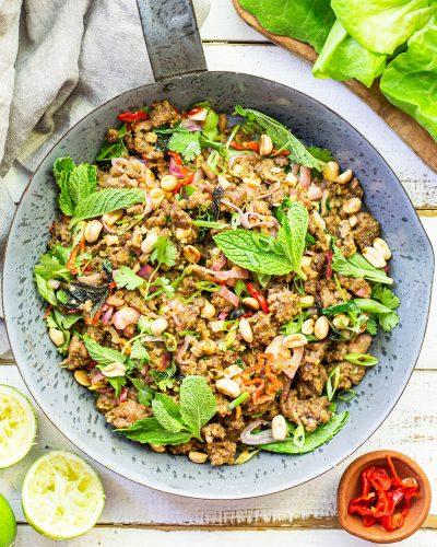 Spicy Thai Beef Larb